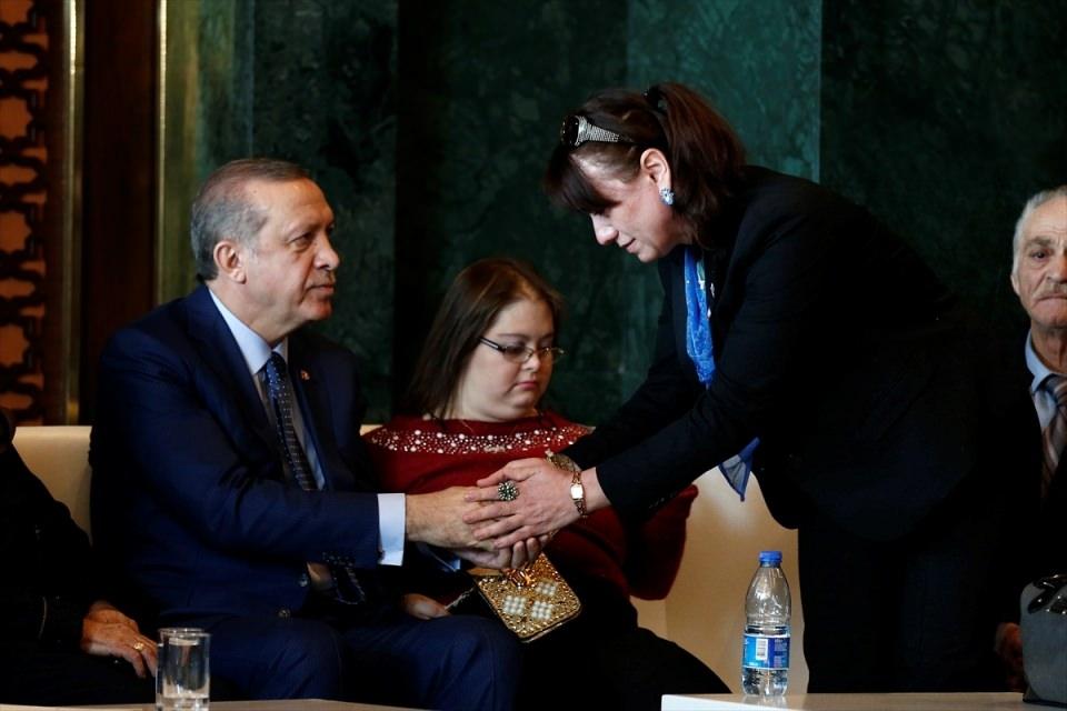 Erdoğan'dan 'Dünya Kadınlar Günü' resepsiyonu 11