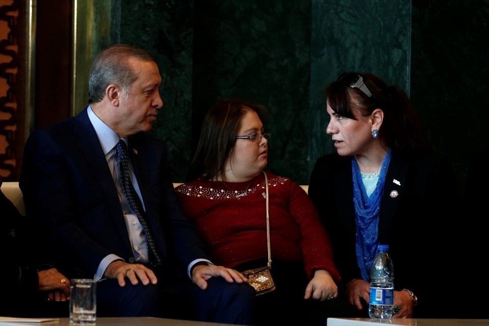 Erdoğan'dan 'Dünya Kadınlar Günü' resepsiyonu 12