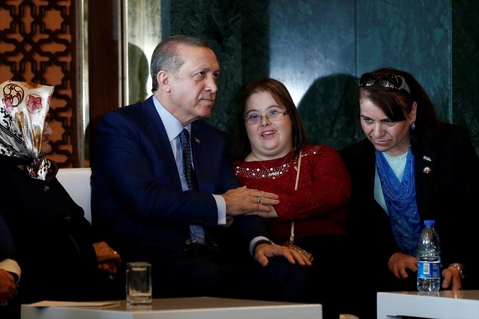 Erdoğan'dan 'Dünya Kadınlar Günü' resepsiyonu 13