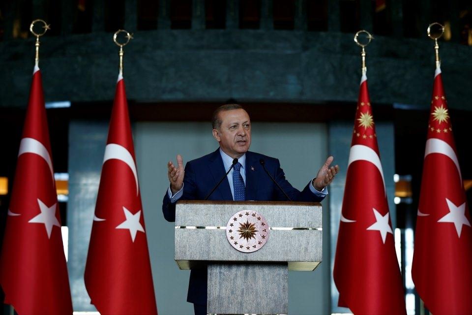 Erdoğan'dan 'Dünya Kadınlar Günü' resepsiyonu 17