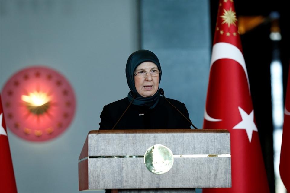 Erdoğan'dan 'Dünya Kadınlar Günü' resepsiyonu 18