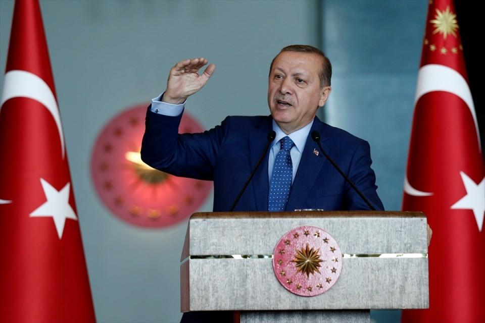 Erdoğan'dan 'Dünya Kadınlar Günü' resepsiyonu 3