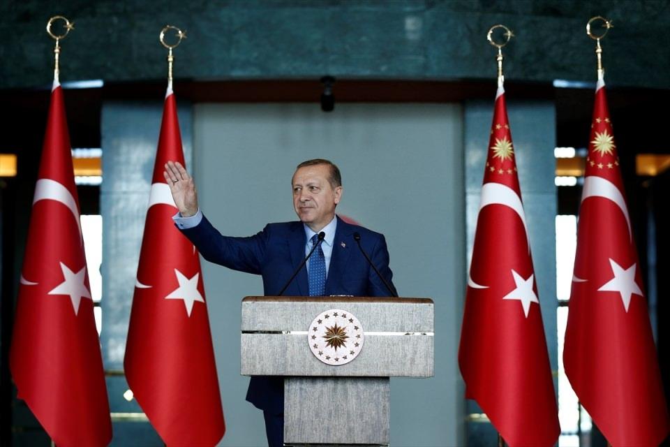 Erdoğan'dan 'Dünya Kadınlar Günü' resepsiyonu 4