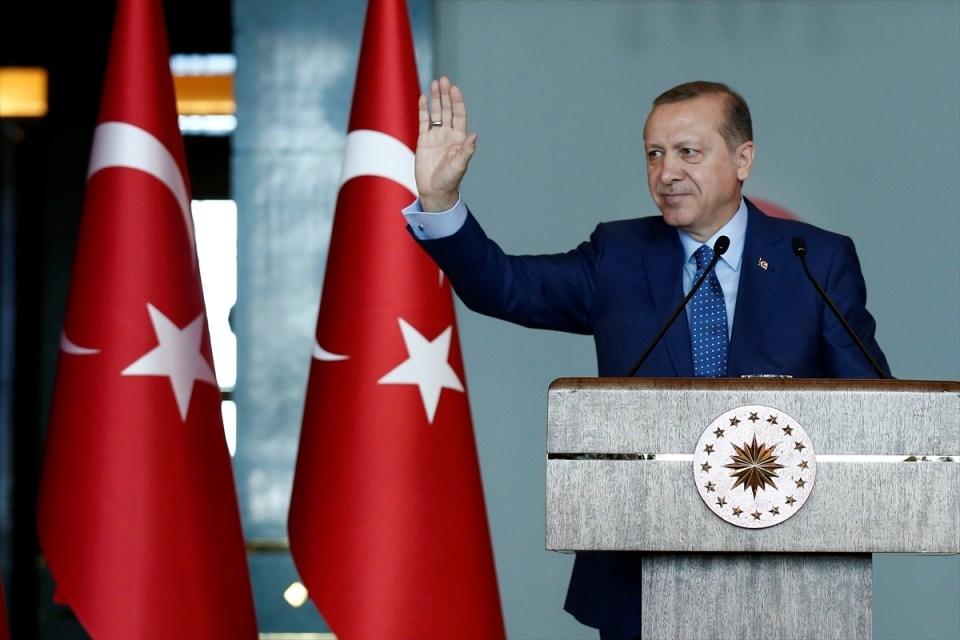 Erdoğan'dan 'Dünya Kadınlar Günü' resepsiyonu 5