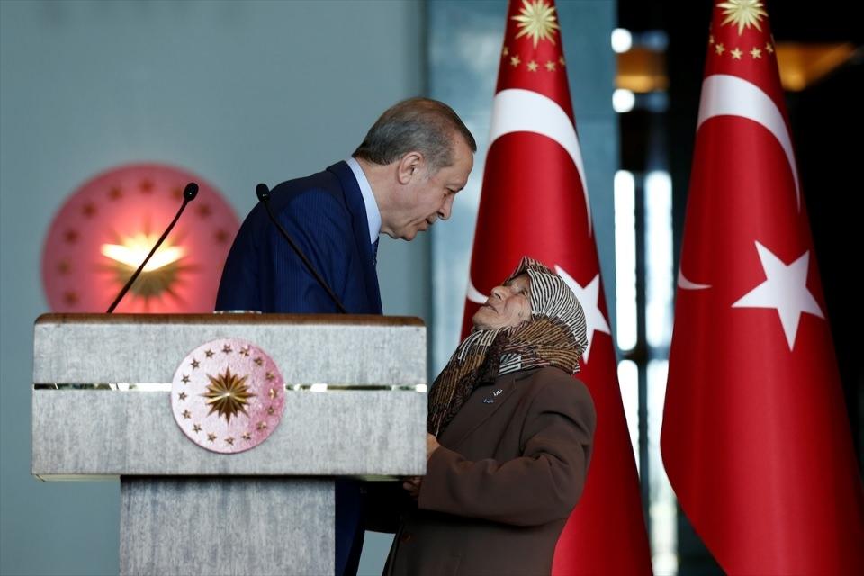 Erdoğan'dan 'Dünya Kadınlar Günü' resepsiyonu 7