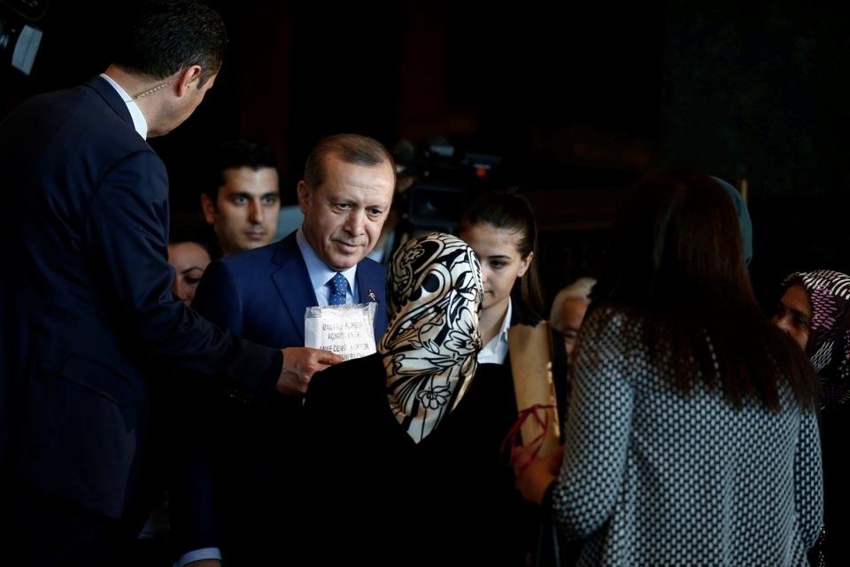 Erdoğan'dan 'Dünya Kadınlar Günü' resepsiyonu 9