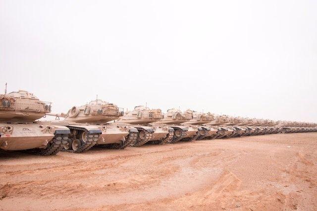 İslam Ordusu'nun tatbikat görüntüleri 6