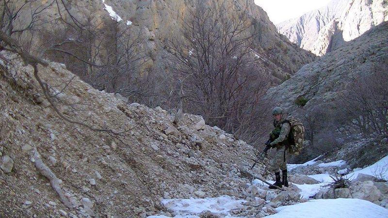 TSK'dan üç ilde terör operasyonu 14
