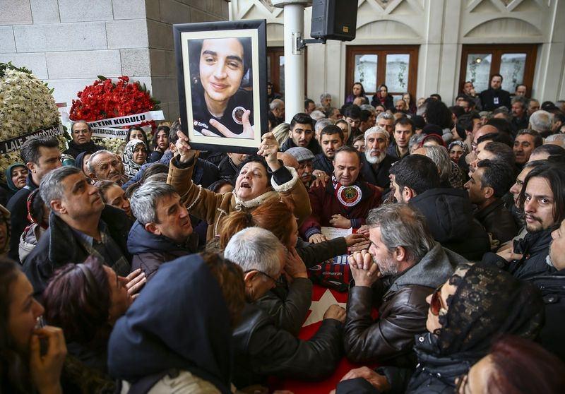 Ankara'da kaybettiklerimize son görev 45