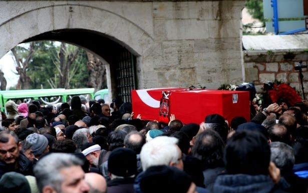 Ankara'da kaybettiklerimize son görev 57