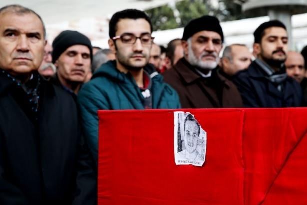 Ankara'da kaybettiklerimize son görev 63