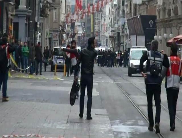 İstiklal Caddesi'nde patlama 11