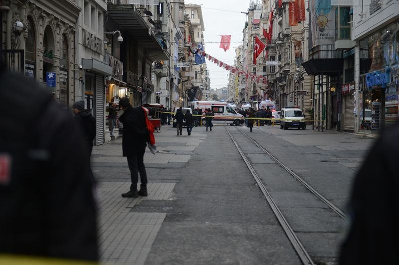 İstiklal Caddesi'nde patlama 2