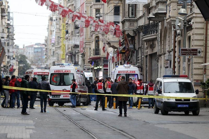 İstiklal Caddesi'nde patlama 4