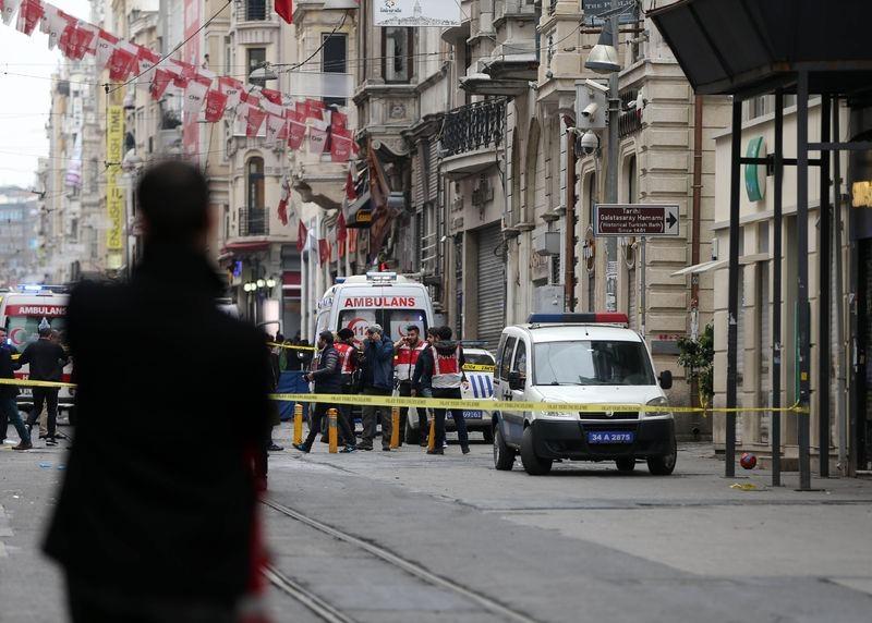 İstiklal Caddesi'nde patlama 5