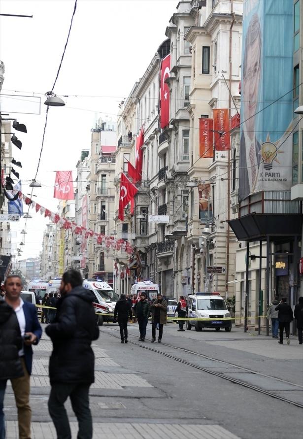 İstiklal Caddesi'nde patlama 6