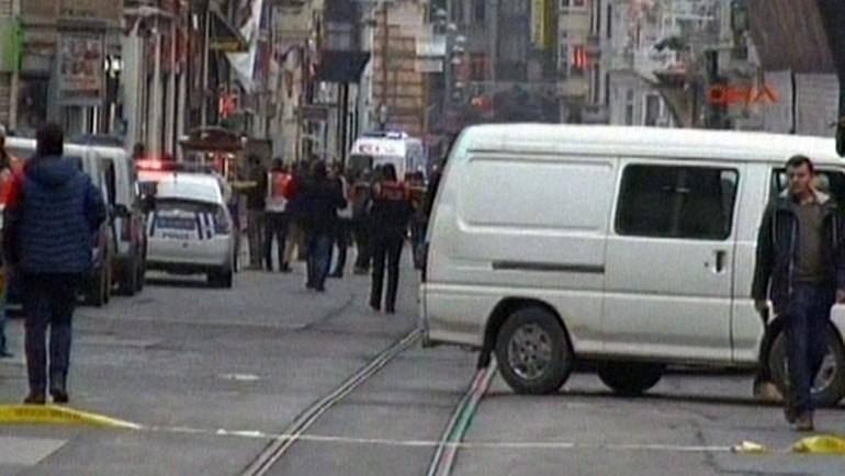 İstiklal Caddesi'nde patlama 7