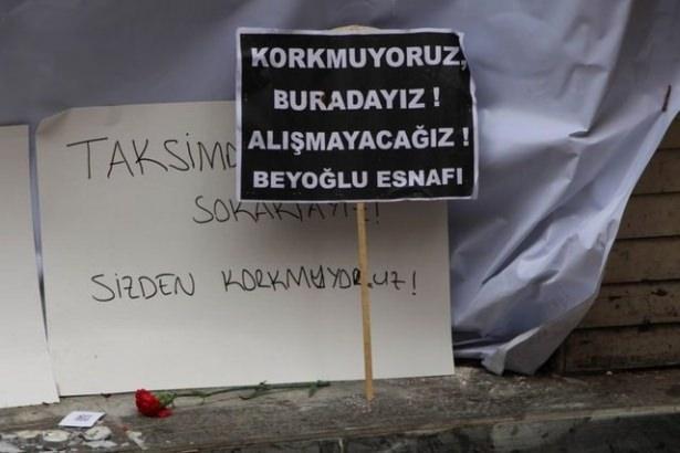 Saldırıdan sonra Taksim! 11