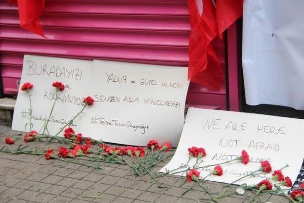 Saldırıdan sonra Taksim! 13