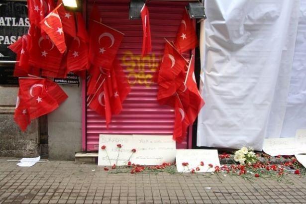 Saldırıdan sonra Taksim! 16