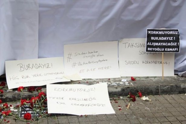 Saldırıdan sonra Taksim! 19