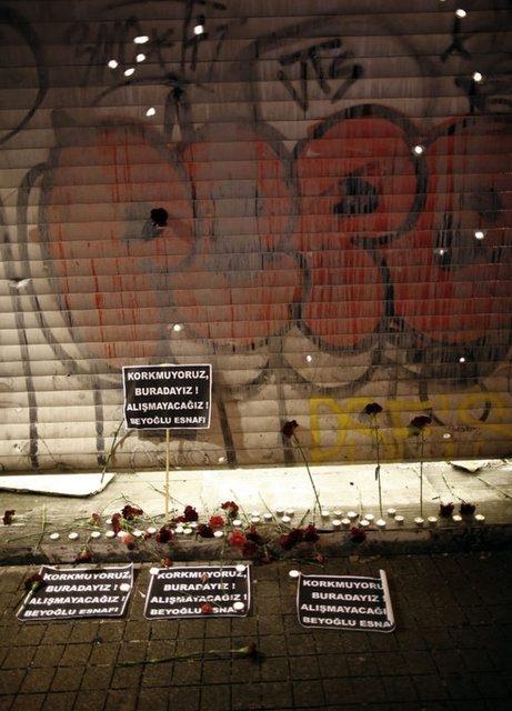 Saldırıdan sonra Taksim! 26