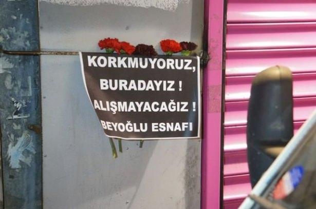 Saldırıdan sonra Taksim! 3