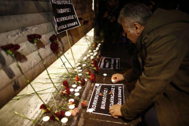 Saldırıdan sonra Taksim! 4