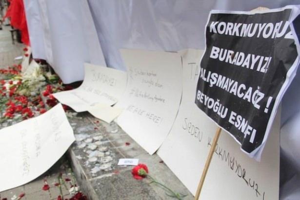 Saldırıdan sonra Taksim! 9