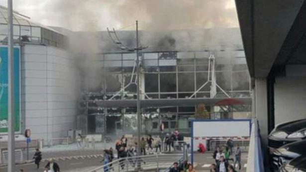 Brüksel Havalimanı'nda patlama 1