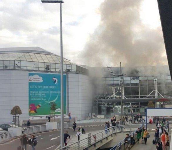 Brüksel Havalimanı'nda patlama 10