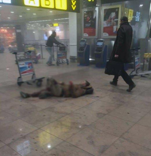 Brüksel Havalimanı'nda patlama 11