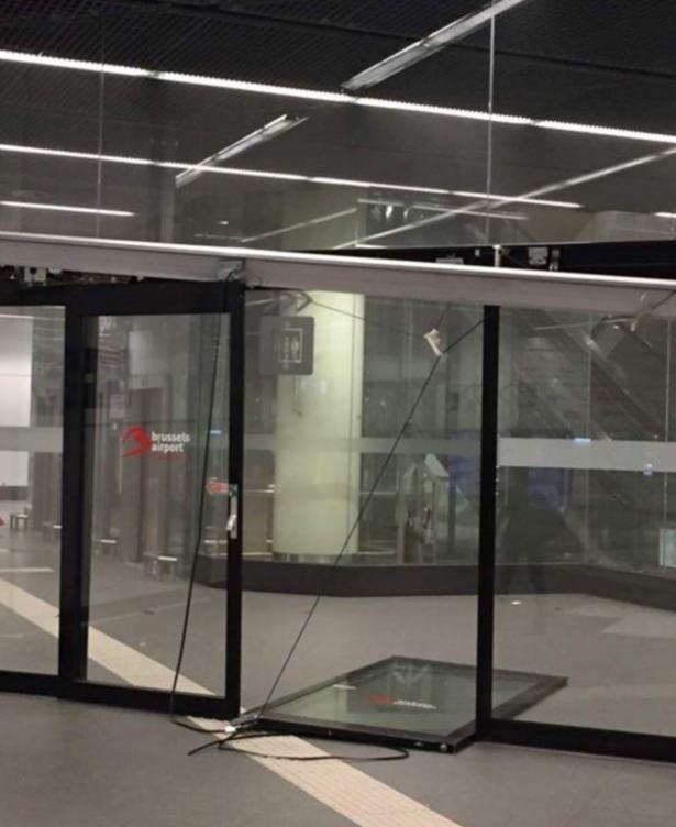 Brüksel Havalimanı'nda patlama 14