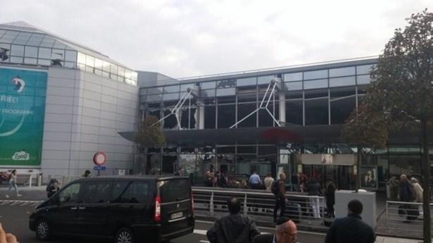 Brüksel Havalimanı'nda patlama 20