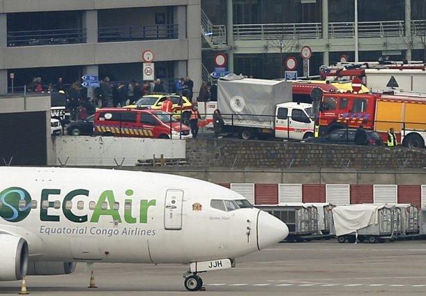 Brüksel Havalimanı'nda patlama 24