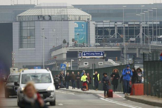 Brüksel Havalimanı'nda patlama 34