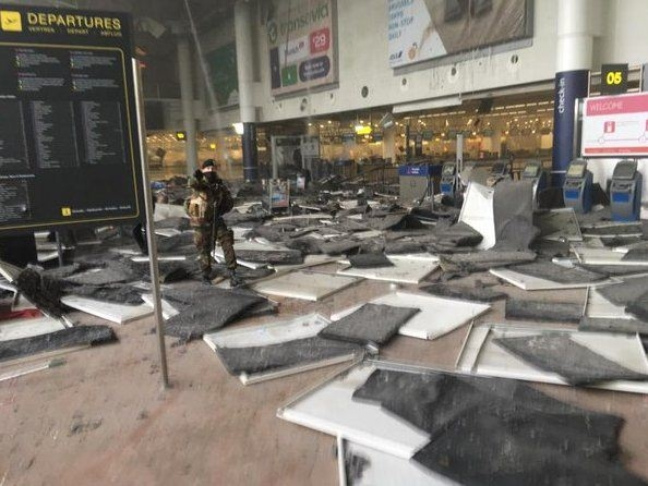 Brüksel Havalimanı'nda patlama 5