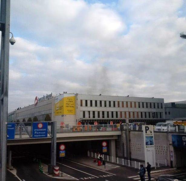 Brüksel Havalimanı'nda patlama 6