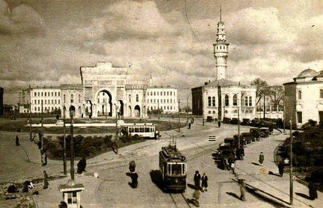 Karşılaştırmalı fotoğraflarla İstanbul'un dünü bugünü 12
