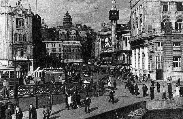 Karşılaştırmalı fotoğraflarla İstanbul'un dünü bugünü 16
