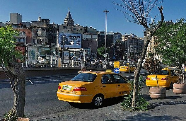 Karşılaştırmalı fotoğraflarla İstanbul'un dünü bugünü 17