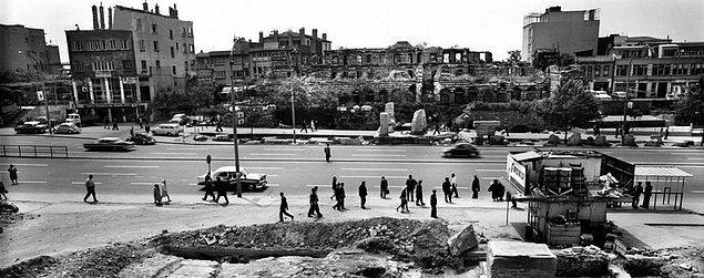 Karşılaştırmalı fotoğraflarla İstanbul'un dünü bugünü 36