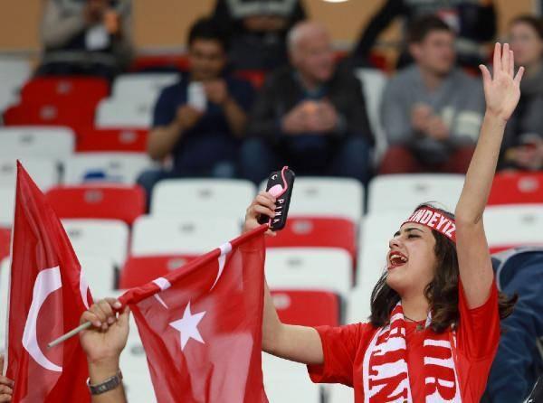 Türkiye-İsveç maçından kareler 10