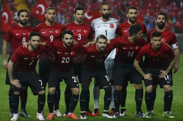 Türkiye-İsveç maçından kareler 4