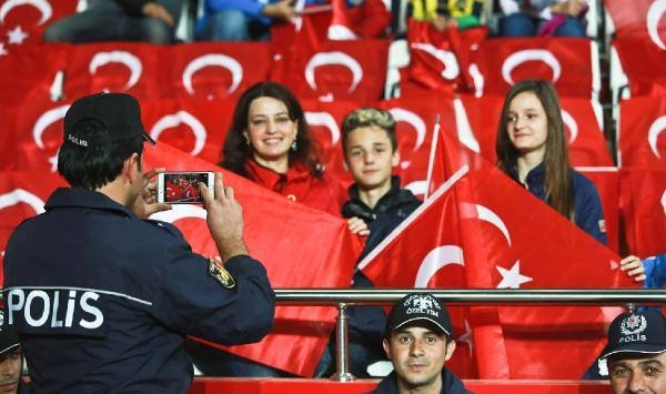 Türkiye-İsveç maçından kareler 6