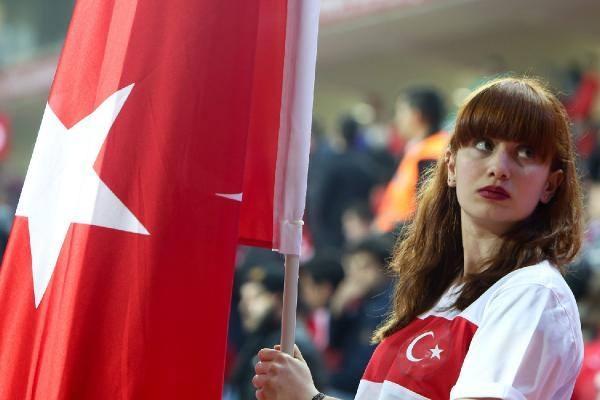Türkiye-İsveç maçından kareler 8