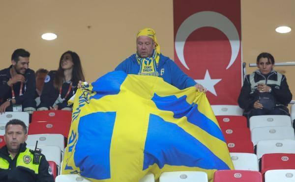 Türkiye-İsveç maçından kareler 9