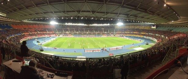 Avusturya-Türkiye maçından kareler 12
