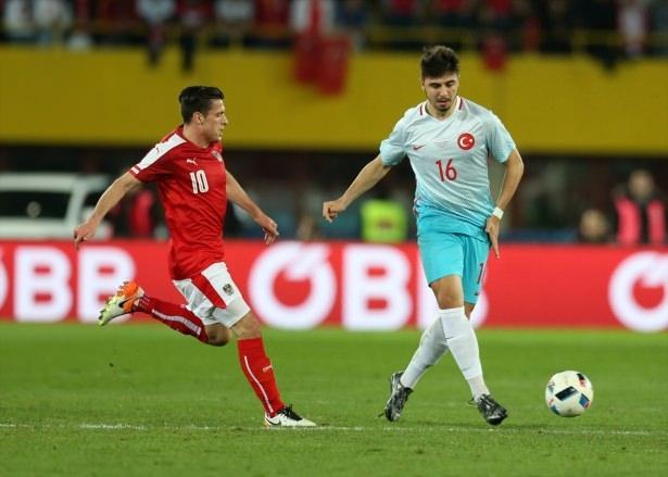 Avusturya-Türkiye maçından kareler 2