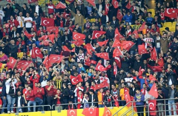 Avusturya-Türkiye maçından kareler 3